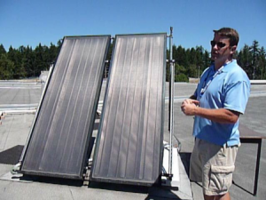 James Smythe - Camosun solar hot water system