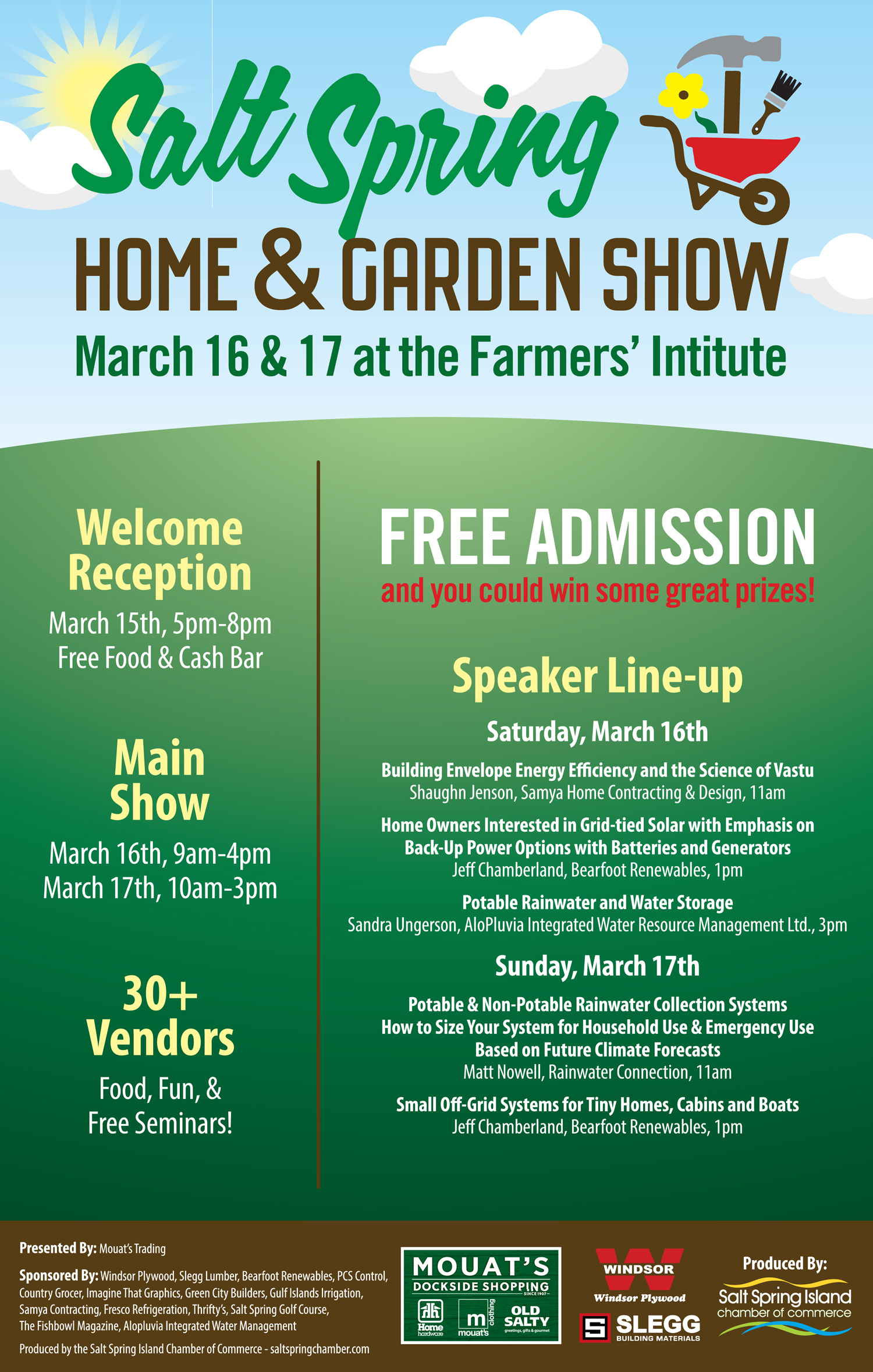Saltspring Home and Garden Show 2019